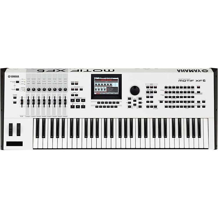 YamahaMotif XF6 White 61-Key Workstation