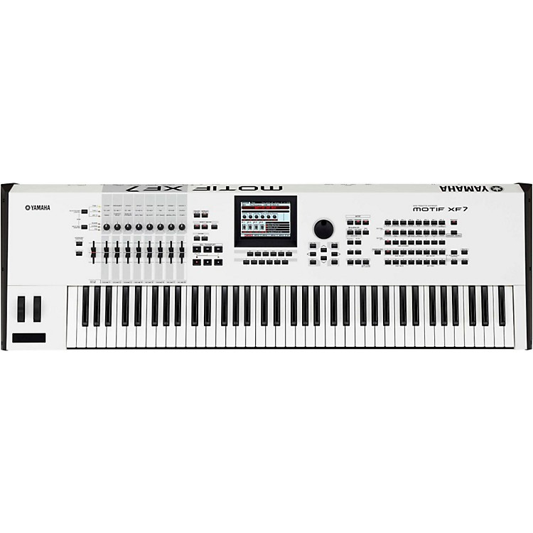Yamaha Motif XF7 White 76-Key Workstation
