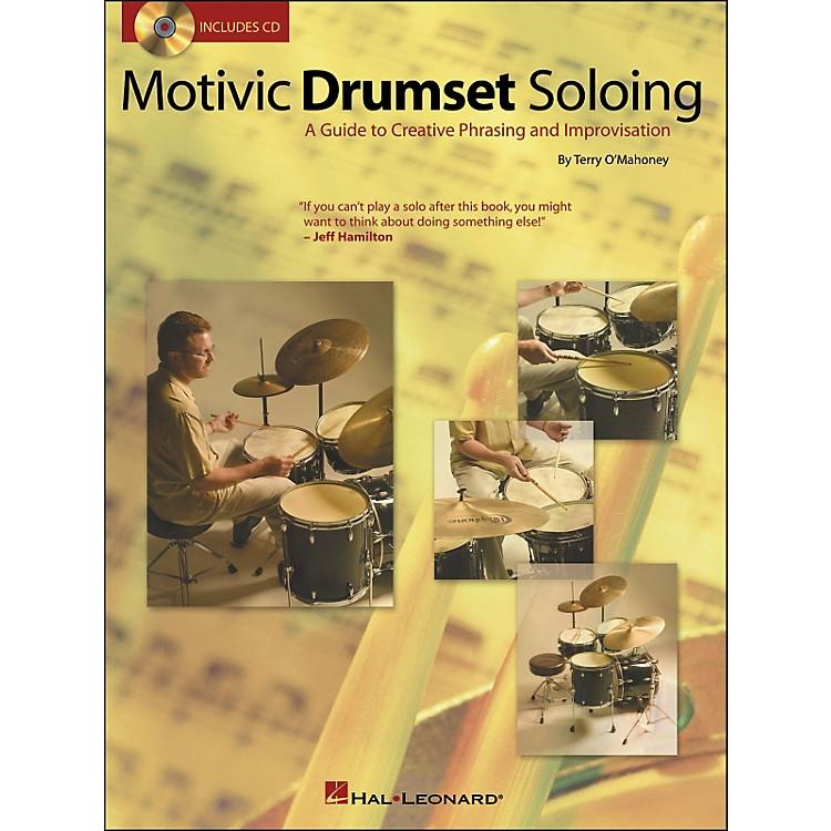 Hal LeonardMotivic Drumset Soloing Book/CD