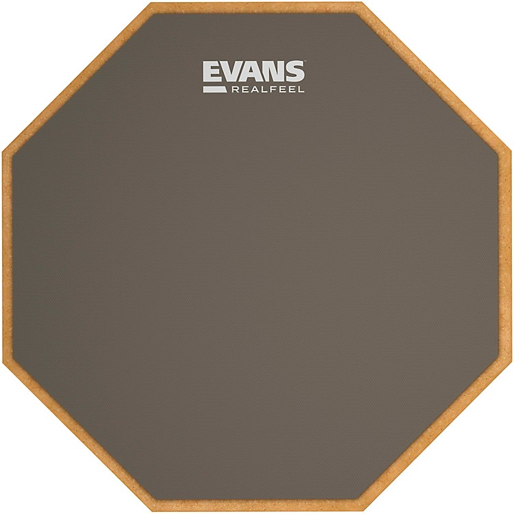 Evans Mountable Speed Pad Gray 12 in.