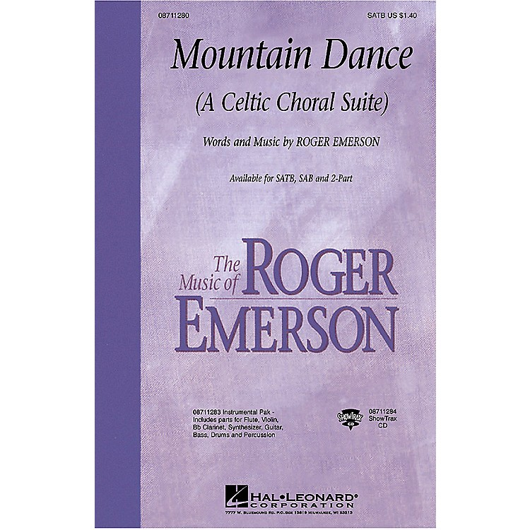 Hal LeonardMountain Dance (A Celtic Choral Suite) SATB composed by Roger Emerson