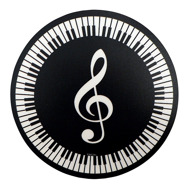 AIMMouse Pad G Clef Round