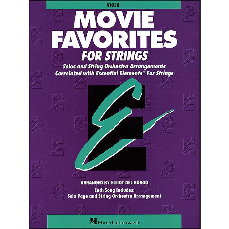 Hal Leonard Movie Favorites Viola Essential Elements