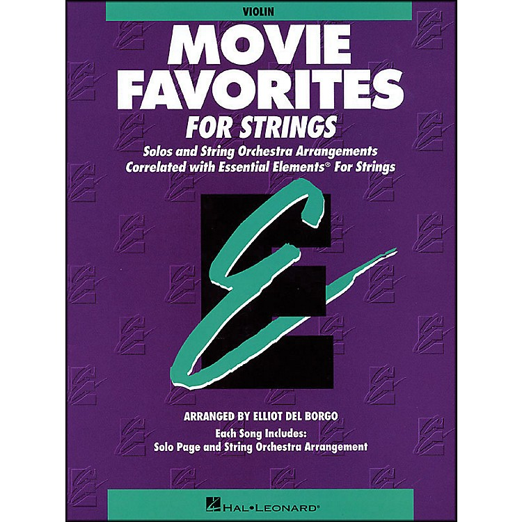 Hal LeonardMovie Favorites Violin Essential Elements
