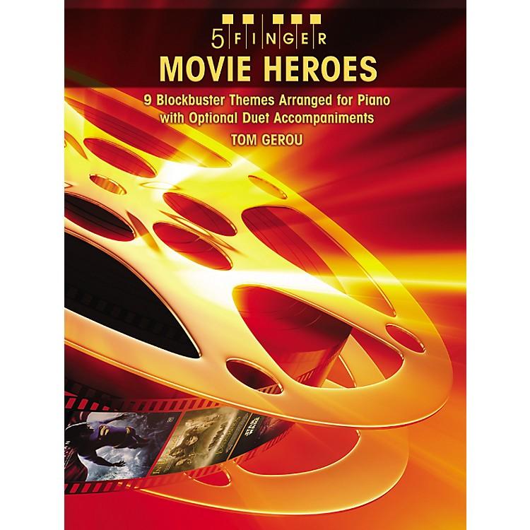 AlfredMovie Heroes 5 Finger Piano