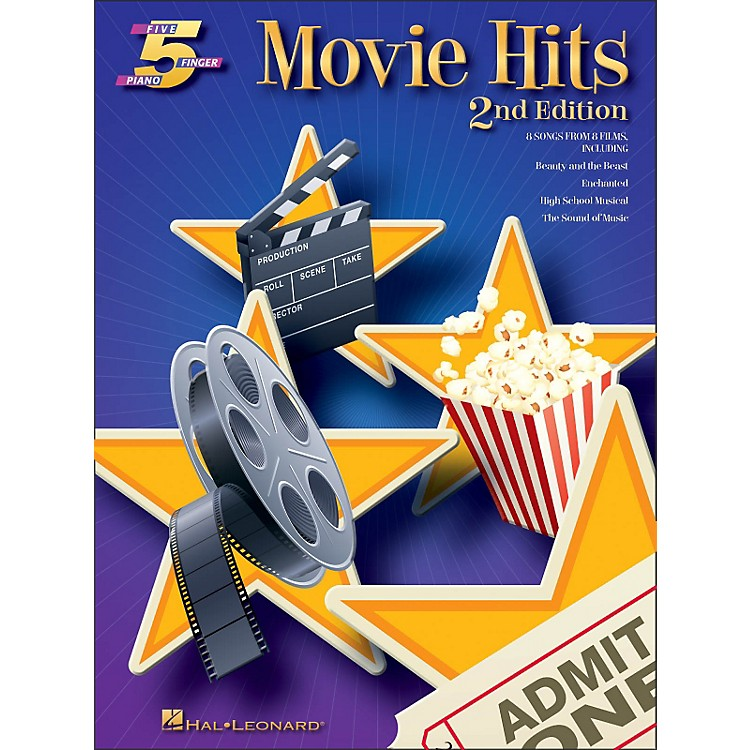 Hal LeonardMovie Hits for Five Finger Piano 2nd Edition