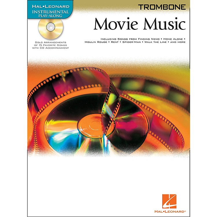 Hal LeonardMovie Music for Trombone Book/CD