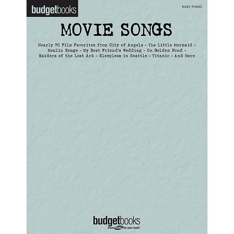 Hal LeonardMovie Songs - Budget Book Series For Easy Piano