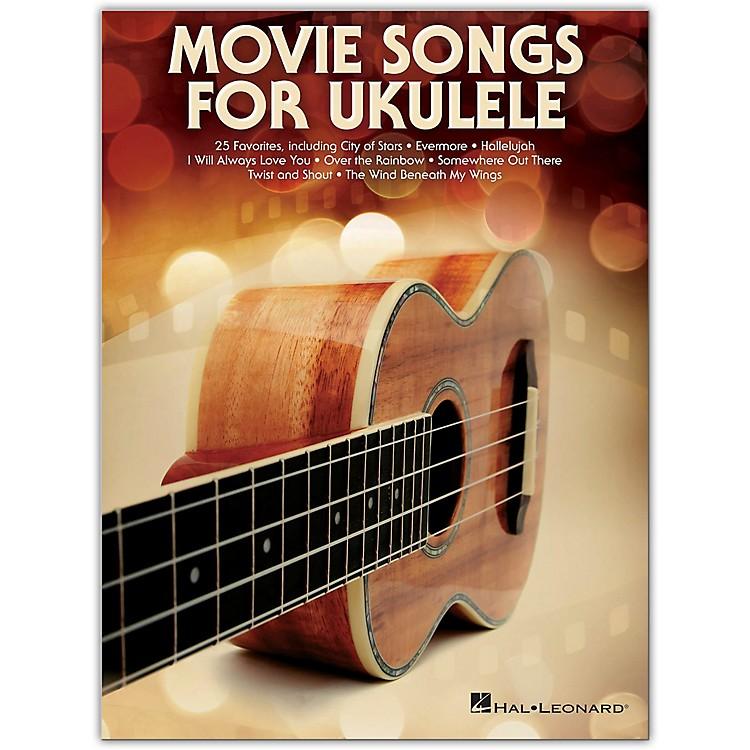 Hal LeonardMovie Songs for Ukulele