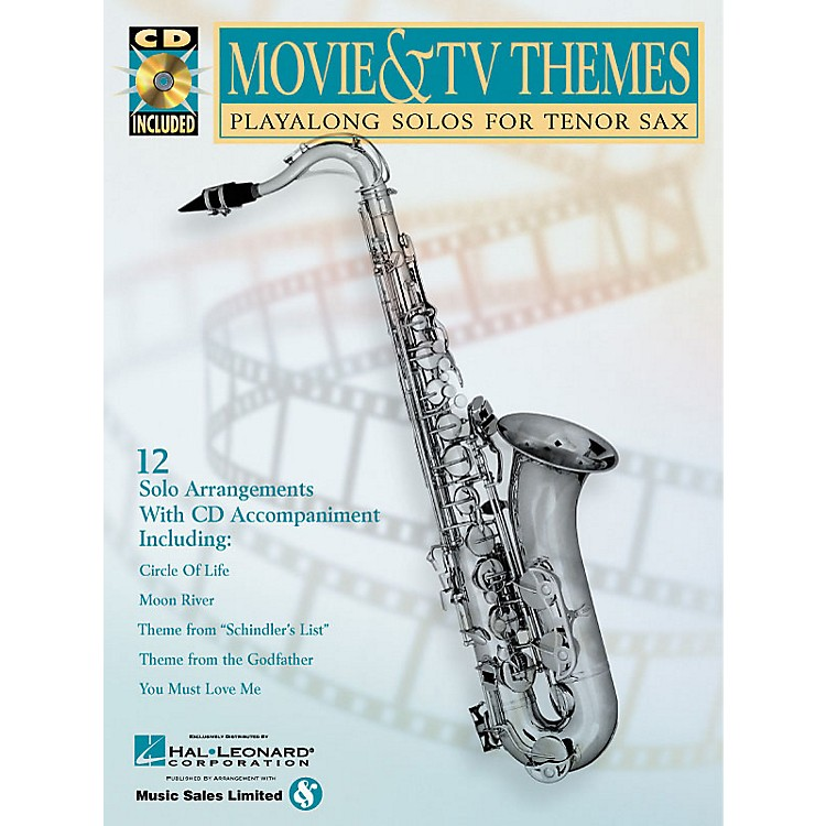 Hal Leonard Movie & TV Themes (Play-Along Solos) Instrumental Play-Along Series Book with CD