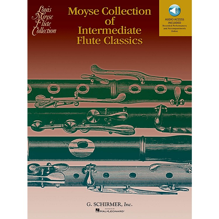 G. SchirmerMoyse Collection of Intermediate Flute Classics Woodwind Solo Series Softcover Audio Online