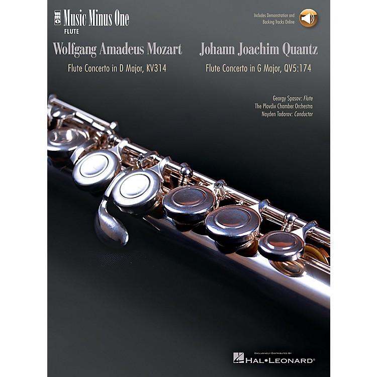 Music Minus OneMozart - Flute Concerto No. 2 in D Maj K. 314; Quantz - Flute Concerto in G Maj Music Minus One BK/CD