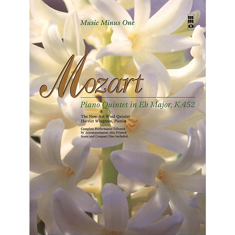Music Minus OneMozart - Piano Quintet in Eb Major, K.452 Music Minus One Softcover with CD by Wolfgang Amadeus Mozart