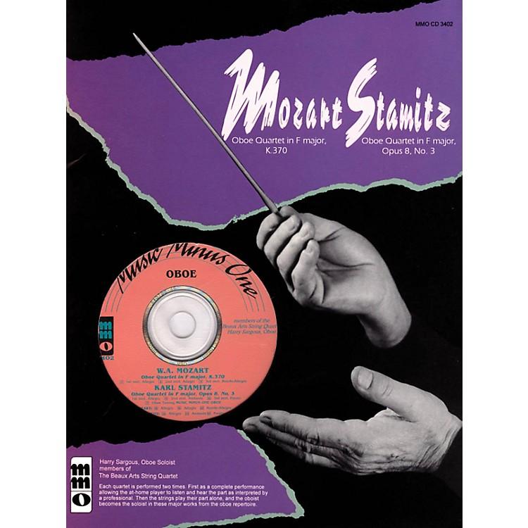 Music Minus OneMozart - Quartet in F Maj, KV370 & Stamitz - Quartet in F Maj, Op 8, No 3 Music Minus One BK/CD