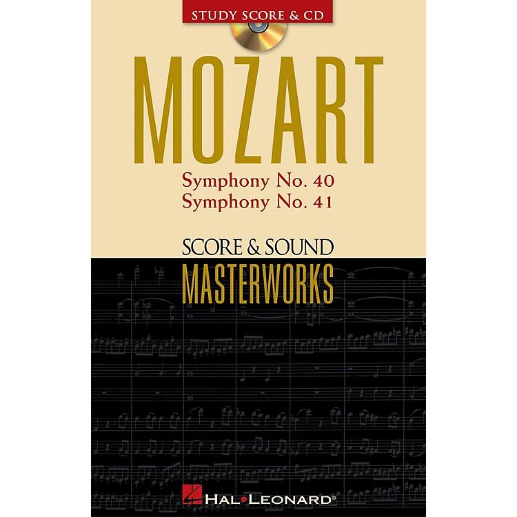 Hal LeonardMozart - Symphony No. 40 in G Minor/Symphony No. 41 in C Major Study Score with CD by Mozart