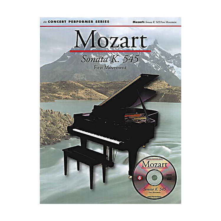 Music SalesMozart: Allegro (Sonata in C K545) Music Sales America Series Softcover with disk