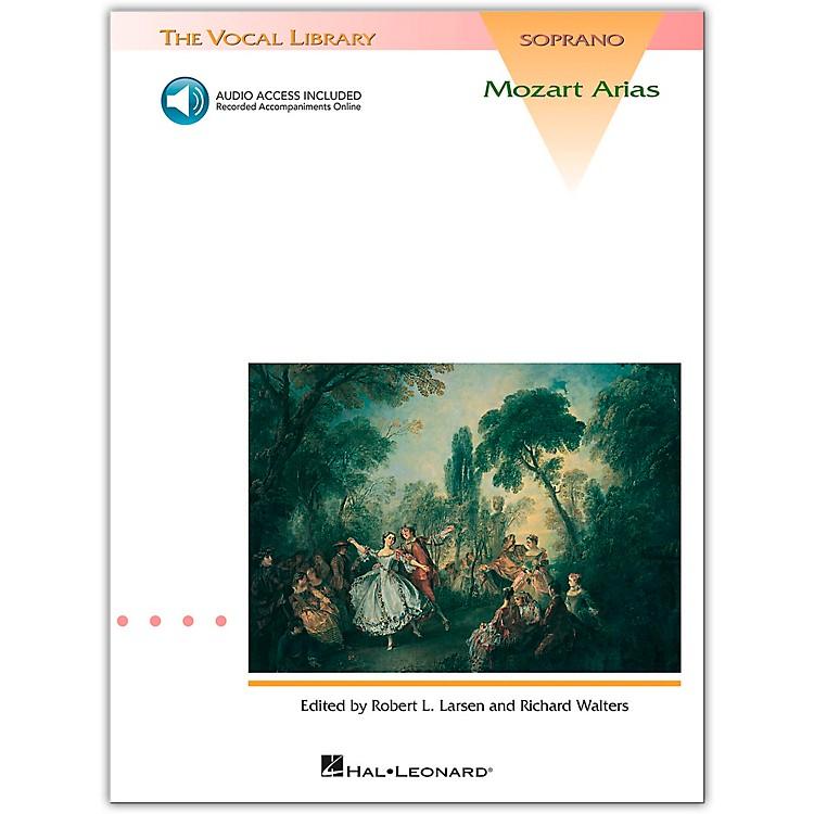 Hal LeonardMozart Arias for Soprano Book/CD