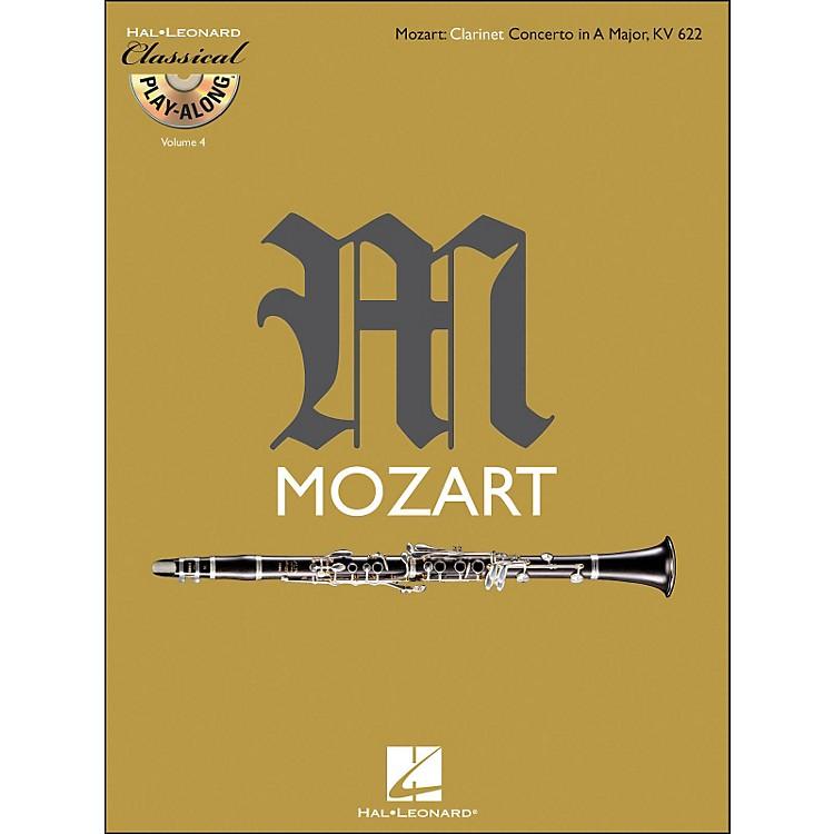 Hal LeonardMozart: Clarinet Concerto In A Major, Kv 622 Classical Play-Along Book/CD Vol.4