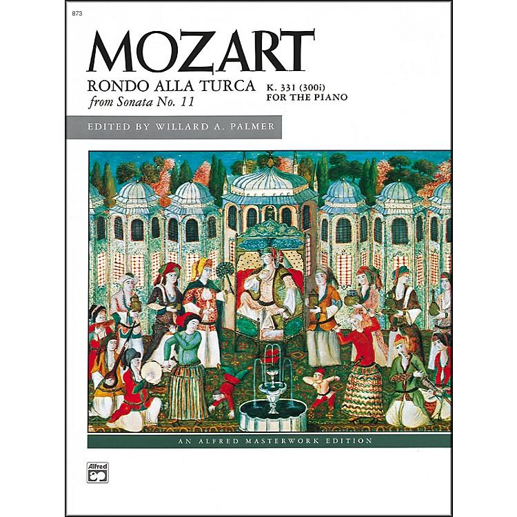 AlfredMozart Rondo allay Turco (from Sonata No. 11  K. 331/300i) Late Intermediate Piano Sheet