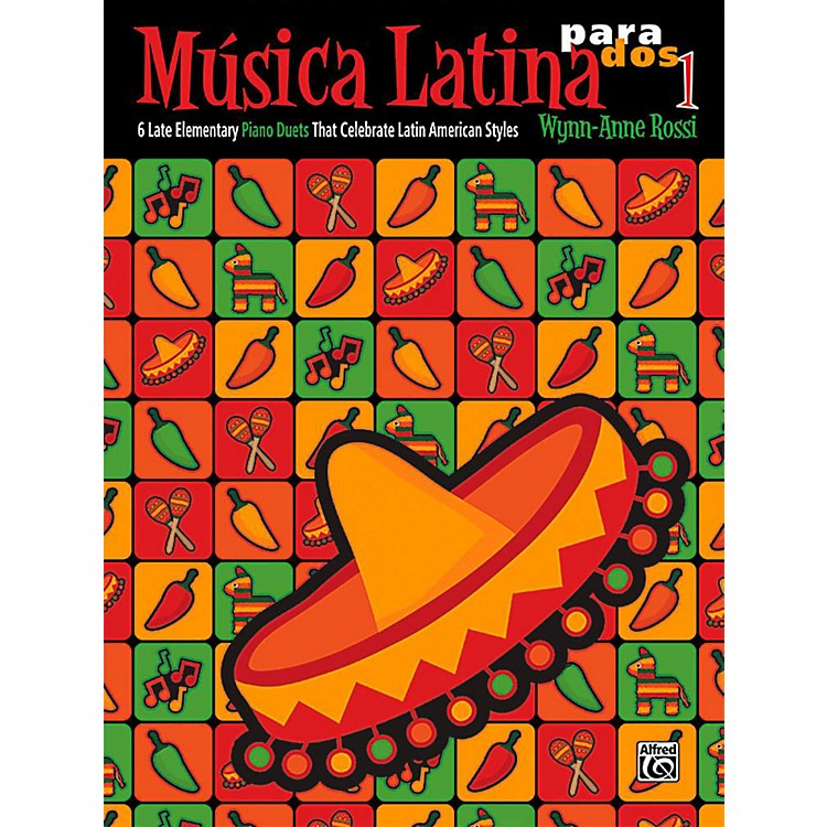 AlfredMºsica Latina para Dos, Book 1 - Late Elementary
