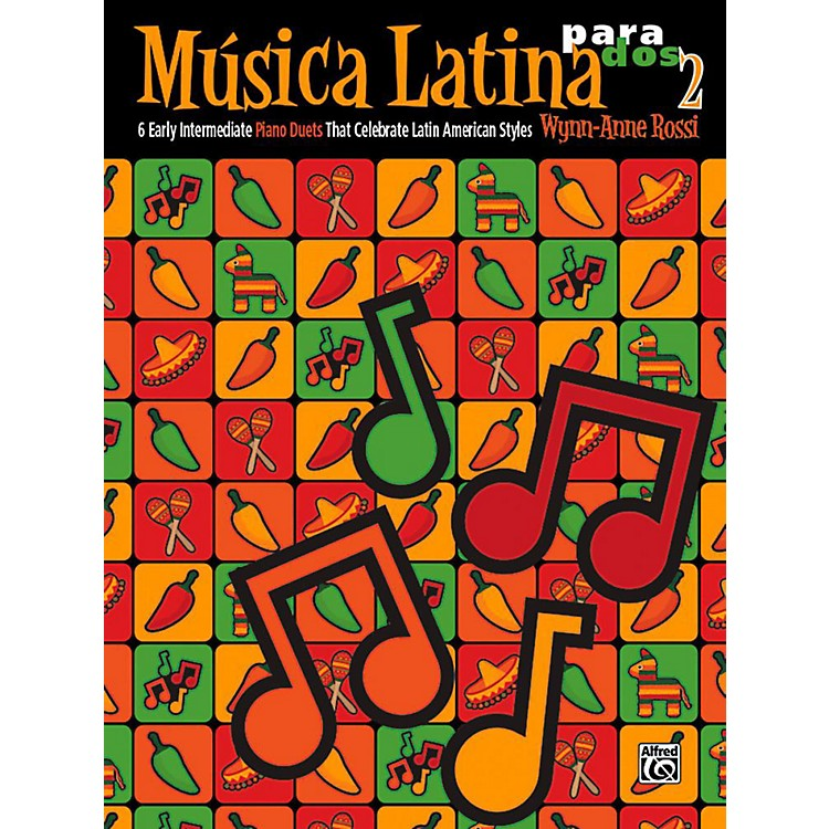 AlfredMºsica Latina para Dos, Book 2 - Early Intermediate