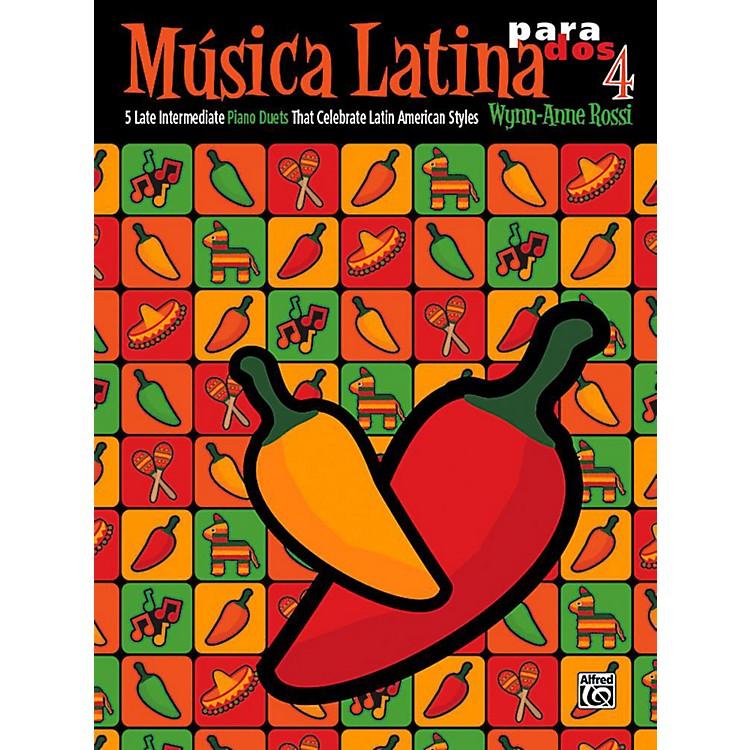 AlfredMºsica Latina para Dos, Book 4 - Late Intermediate