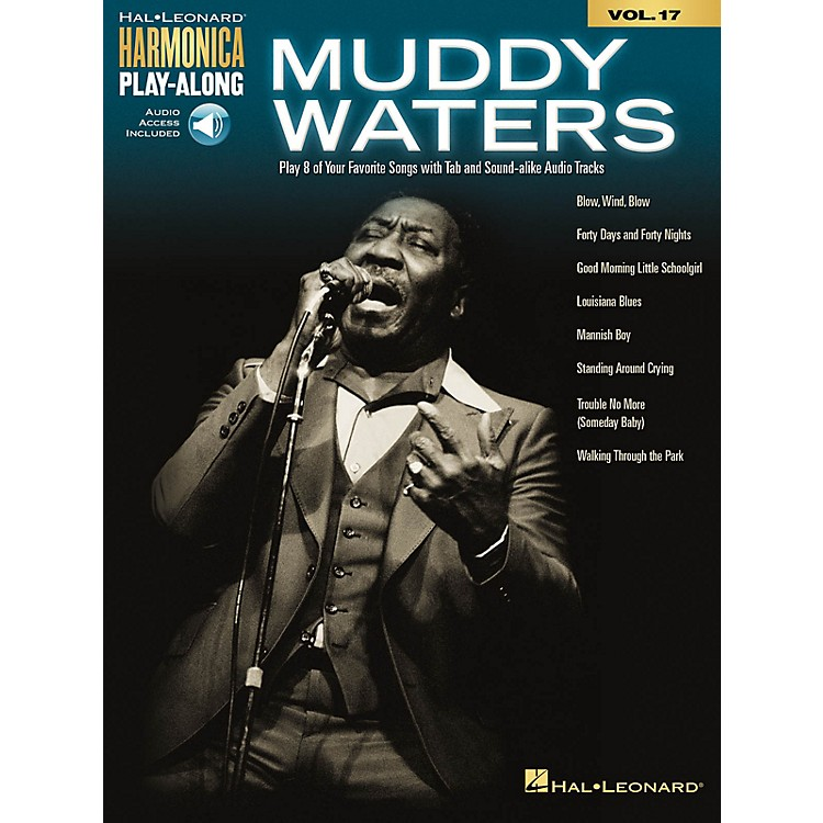 Hal Leonard Muddy Waters Harmonica Play-Along Volume 17 Book/Audio Online