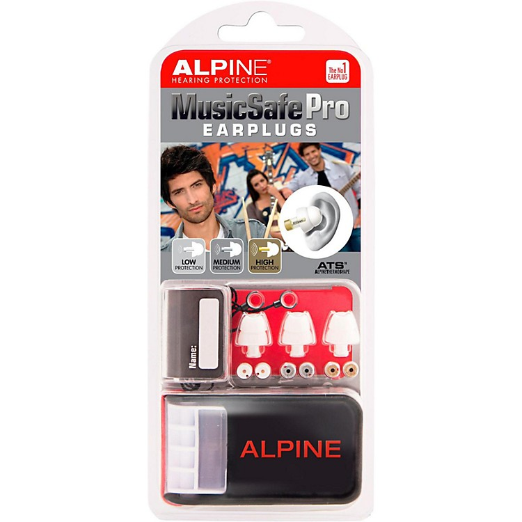 Alpine Hearing Protection Multi Attenuator Molded Earplugs