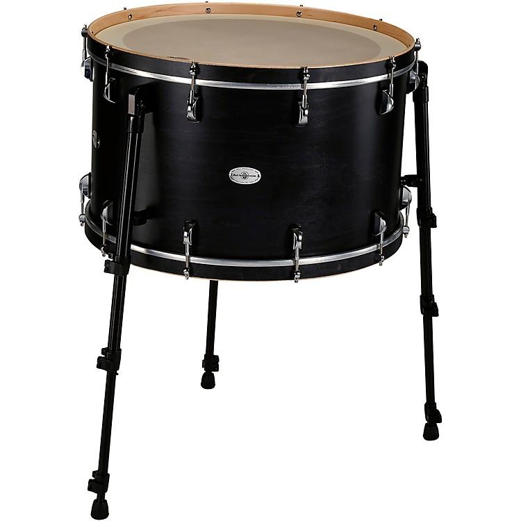 Black Swamp PercussionMulti Bass Drum in Satin Concert Black Stain24 in.