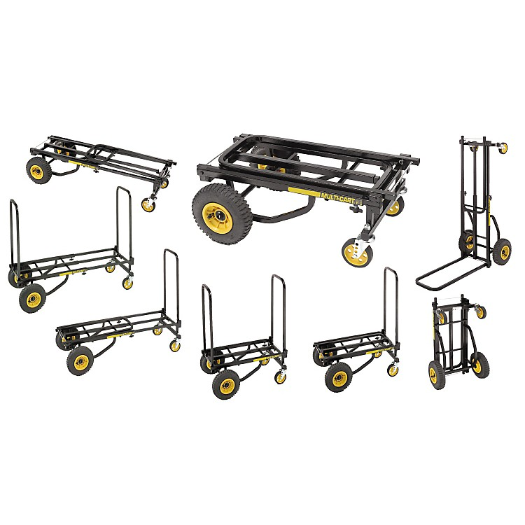 Rock N Roller Multi-Cart 8-in-1 R8 Mid Equipment Transporter Cart