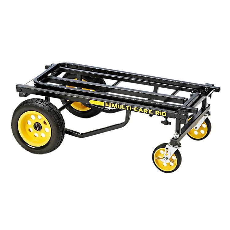 Rock N RollerMulti-Cart R10RT MaxBlack Frame/Yellow WheelsMax