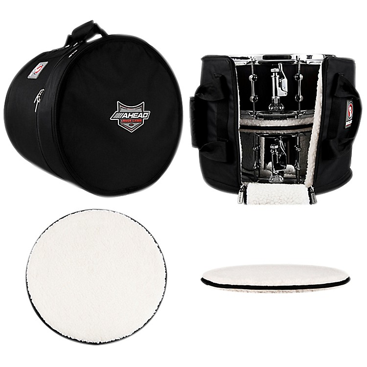 AheadMulti Snare Case with 2 Stackers16 x 14 in.
