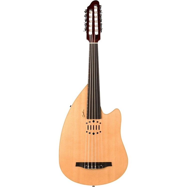 Godin MultiOud Nylon Acoustic-Electric Oud Natural HG 888365835587