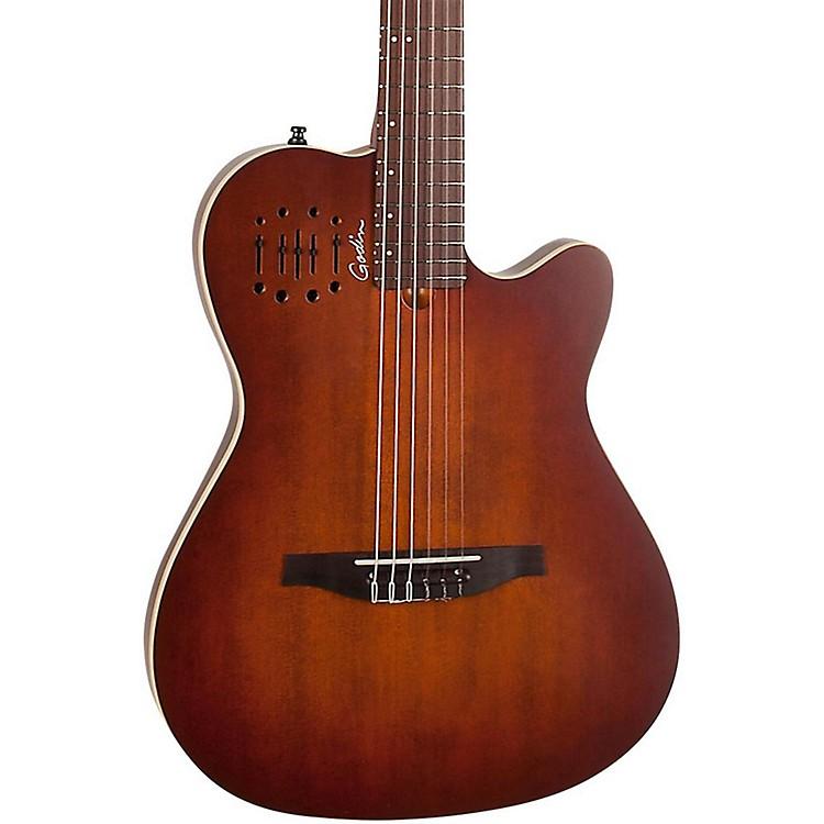 GodinMultiac Encore Nylon String Acoustic-Electric GuitarBurnt Umber