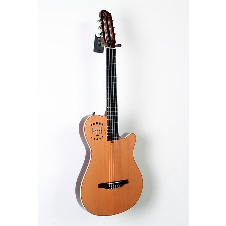 GodinMultiac Grand Concert Duet Ambiance Nylon String Acoustic-Electric GuitarHigh Gloss Natural888365794839