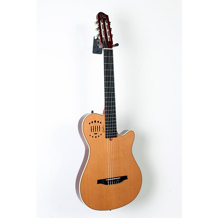 GodinMultiac Grand Concert Duet Ambiance Nylon String Acoustic-Electric GuitarHigh Gloss Natural888365827421