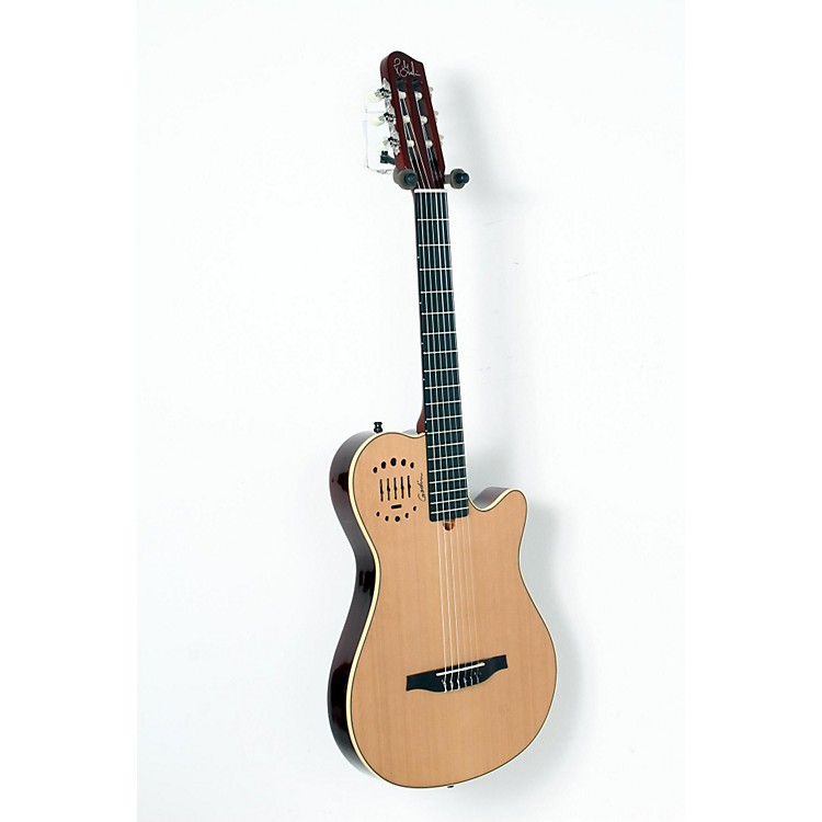 GodinMultiac Grand Concert Duet Ambiance Nylon String Acoustic-Electric GuitarHigh Gloss Natural888365904467