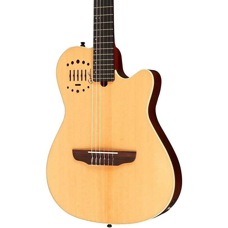 Godin Multiac Nylon Duet Ambiance Acoustic-Electric Guitar Natural