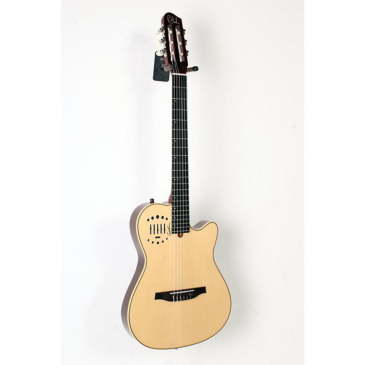 Godin Multiac Nylon Duet Ambiance Acoustic-Electric Guitar Natural 888365916033