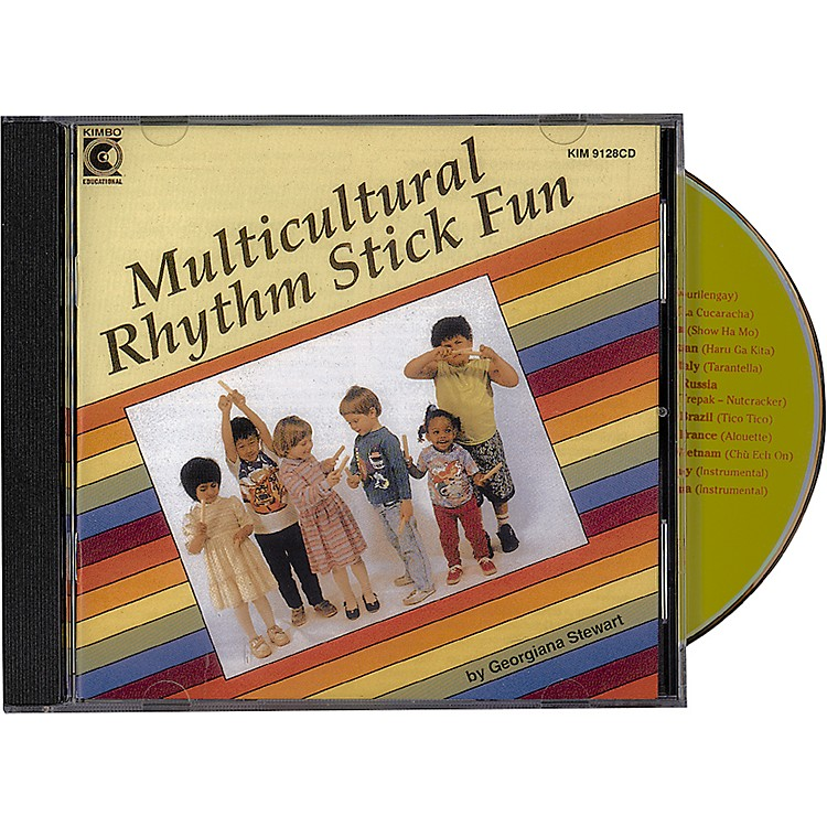 Kimbo Multicultural Rhythm Stick Fun