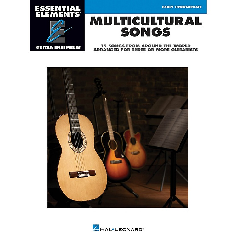 Hal LeonardMulticultural Songs Essential Elements Guitar Series Softcover Performed by Various