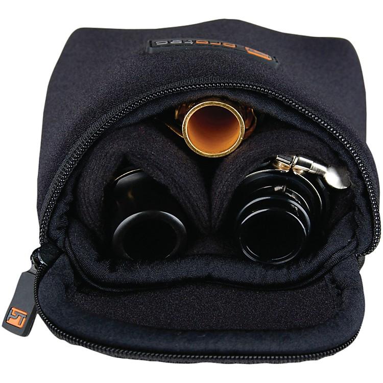ProtecMultiple Trombone/Alto Sax/Clarinet Mouthpiece PouchBlack