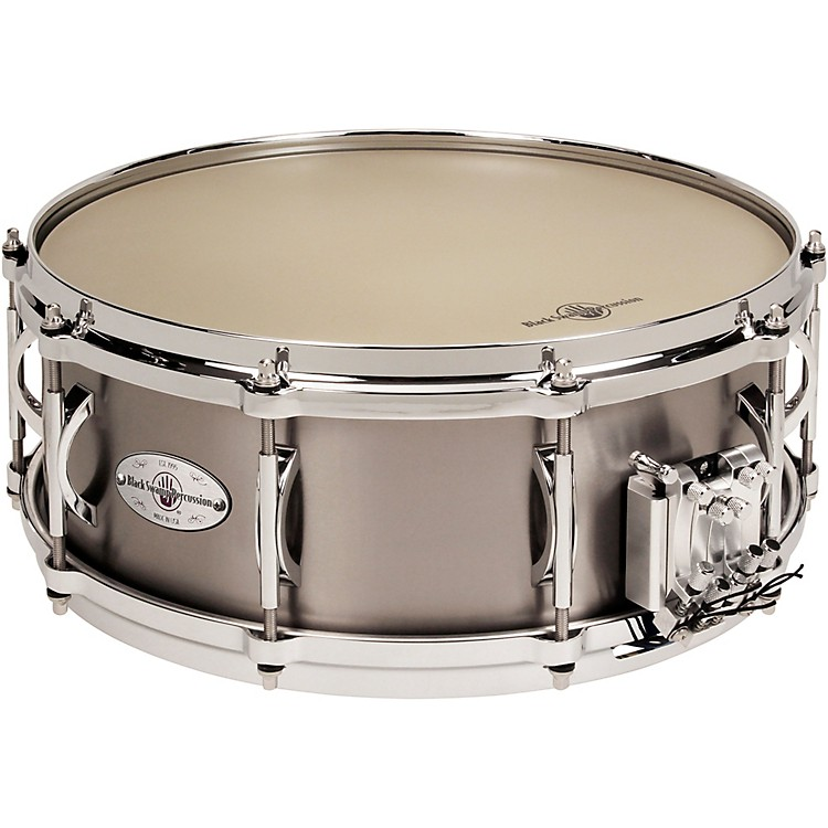 Black Swamp Percussion Multisonic Concert Titanium Elite Snare Drum, 14x5.5 in.