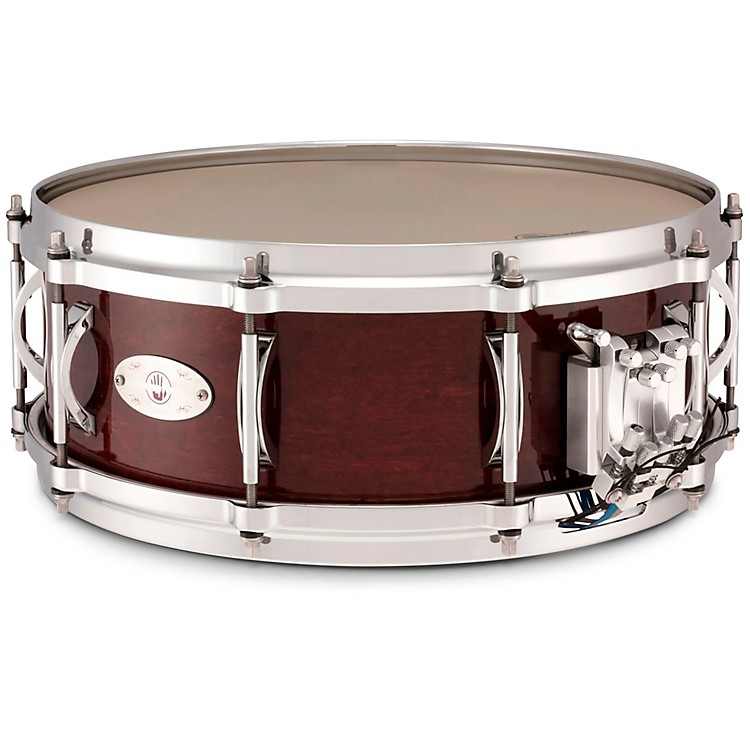 Black Swamp PercussionMultisonic Maple Shell Snare DrumConcert Black14 x 5 in.