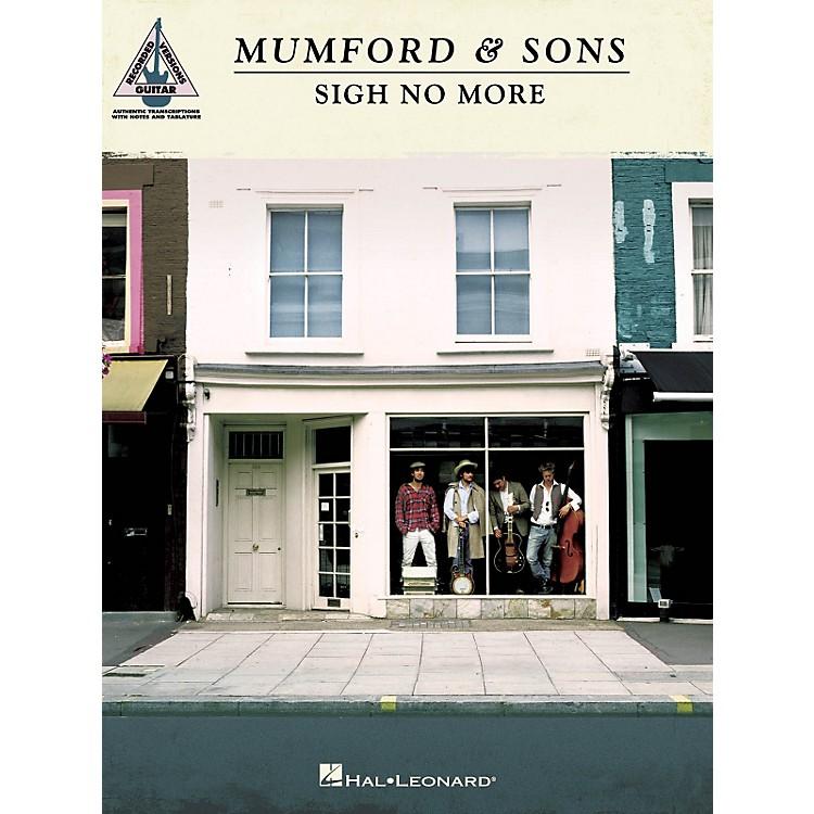 Hal LeonardMumford & Sons - Sigh No More Guitar Tab Songbook