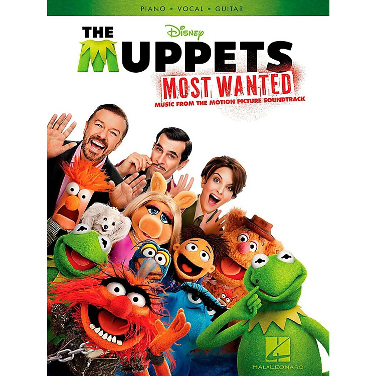 Hal LeonardMuppets Most Wanted - Music From The Motion Picture Soundtrack for Piano/Vocal/Guitar