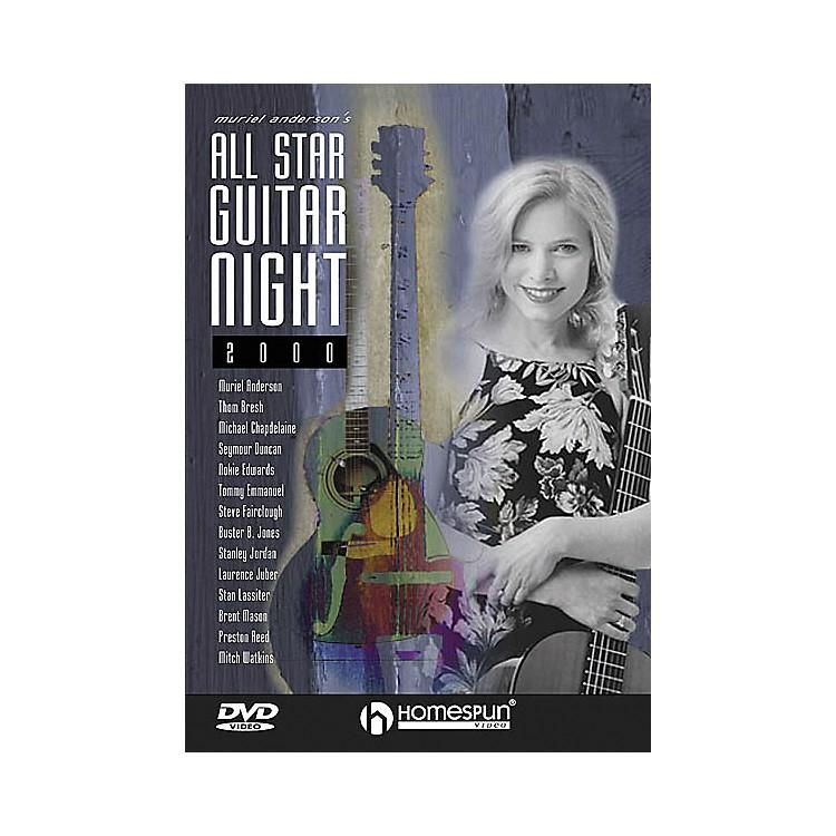 HomespunMuriel Anderson's All-Star Guitar Night, Concert 2000 (DVD)