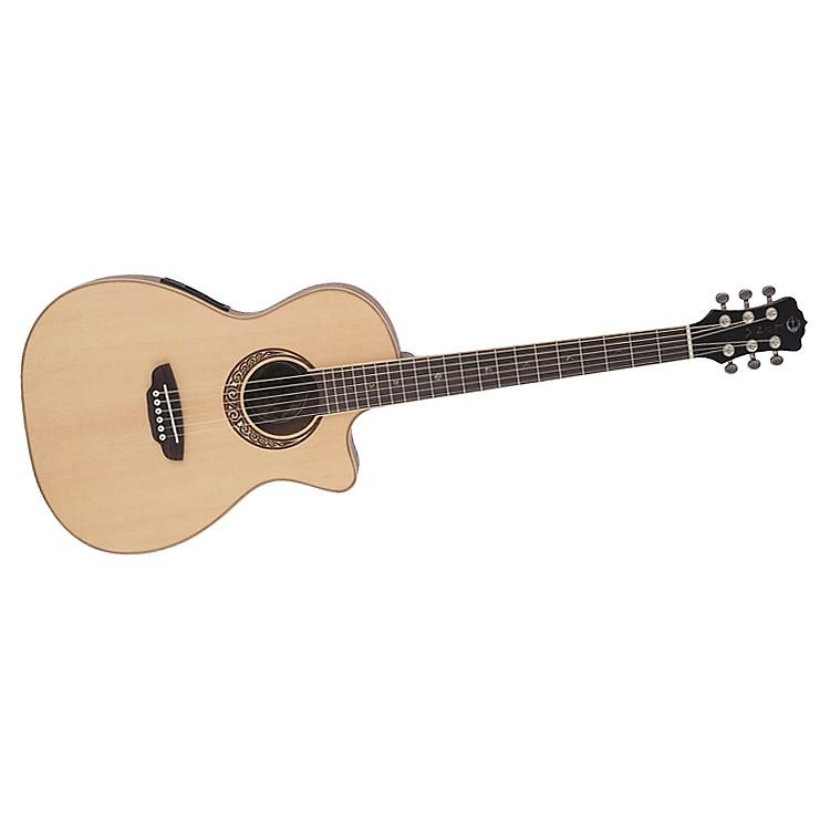 Luna GuitarsMuse Parlor Acoustic-Electric Guitar
