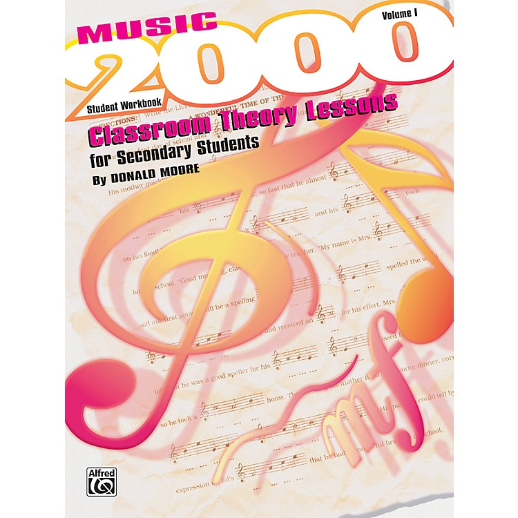 Alfred Music 2000 Classroom Theory Lessons for Secondary Students Vol. I Workbook