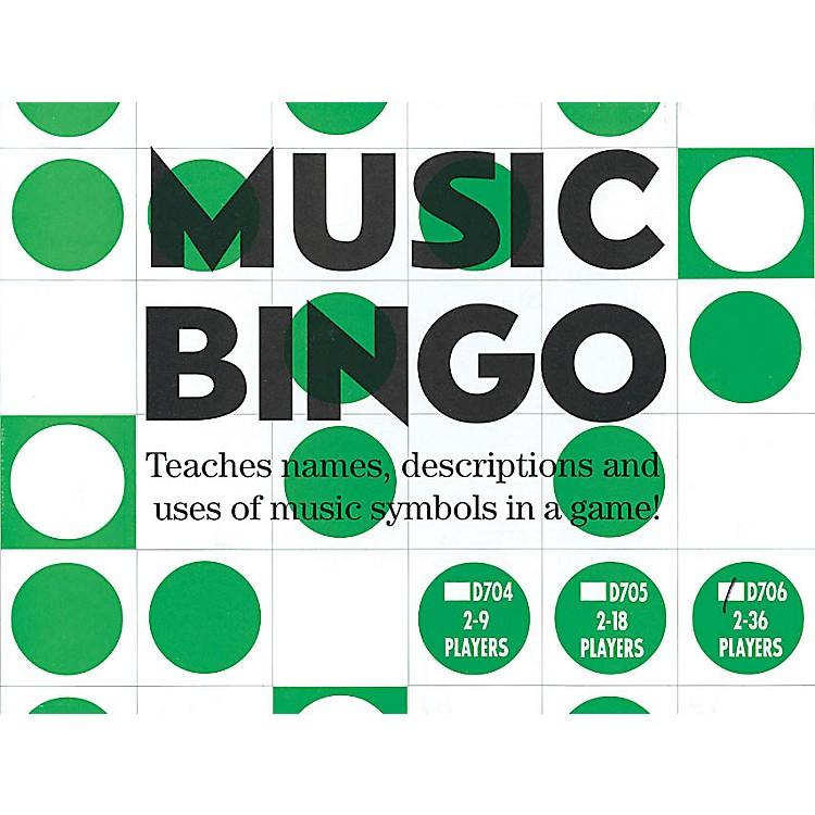 Music SalesMusic Bingo (2-36 Players) Music Sales America Series General Merchandise